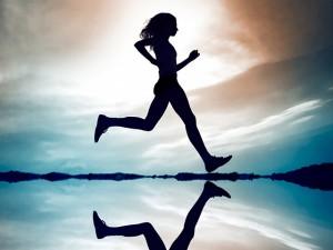 Running woman 1